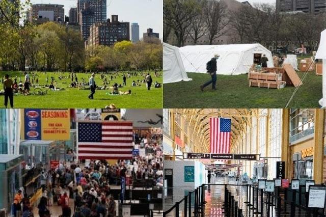 EN EE.UU, ADVIERTEN DE UNA SEMANA MUY DURA, NUEVA YORK  SUPERA LAS CUATRO MIL MUERTES POR COVID-19