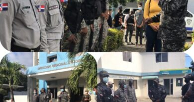 """Teniente coronel Erogues Fortuna Rosario, arenga a los agentes preventivos sobre los principios del """"Uso proporcional de la fuerza"""""""