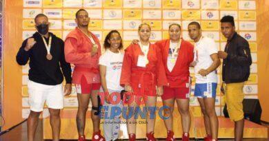 SAMBO dominicano obtiene 8 medallas en su primer día de los Panamericano, en Colombia, dos de oro