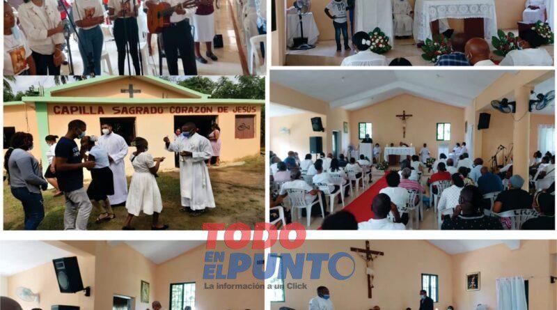 Reinauguran capilla del Santísimo en Los Botados; fue remodelada por Nelson Gutiérrez