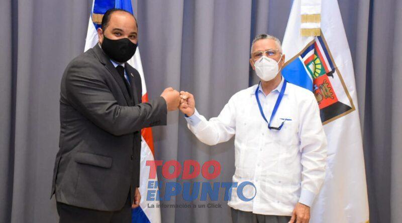 Ayuntamiento y el Defensor del Pueblo inician relaciones para mejorar servicios en Santo Domingo Este