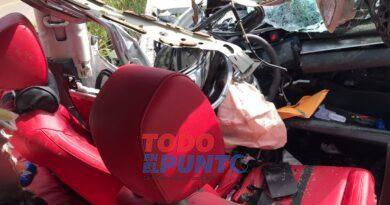 Mueren dos jóvenes tras sufrir accidente en Boyà de la provincia Monte Plata