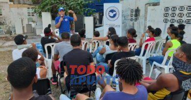 CND lleva mensajes preventivos a jóvenes del sector Villa Consuelo
