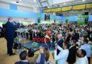 Leonel Fernández concluye recorrido en Nueva York con récord de 21 juramentaciones