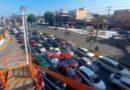 ¡Pandemonium!!!… Cierre del puente de Villa Mella provoca fuerte taponamiento